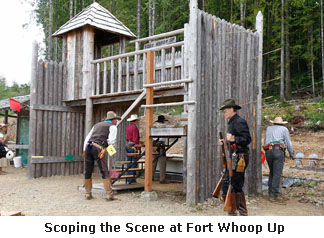 Scoping Out the Scene at Fort Whoop Up