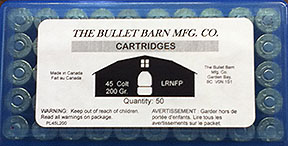 Ammunition Label